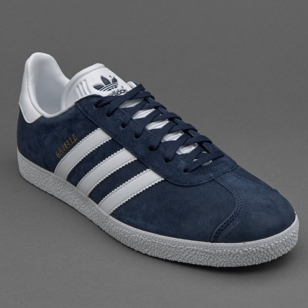 Adidas Gazelle Collegiate Navy White Gold Online g...