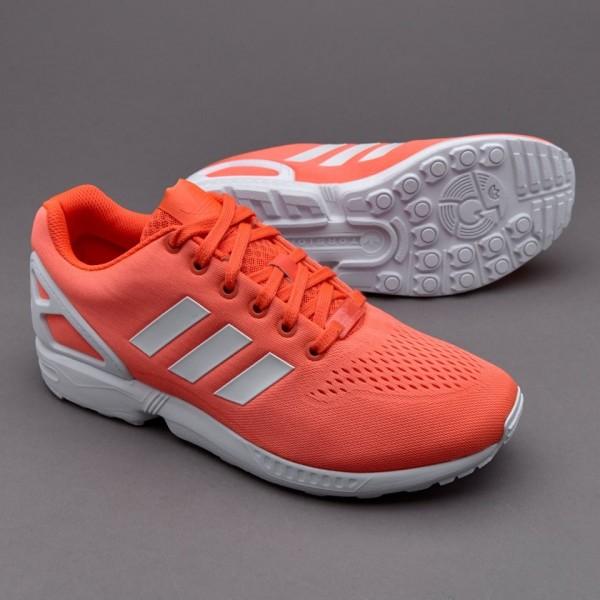 Adidas ZX Flux EM Solar-Rot Weiß Günstig online
