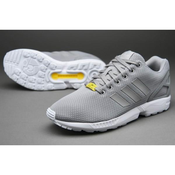Adidas ZX Flux Aluminium Lauf Weiß Sale