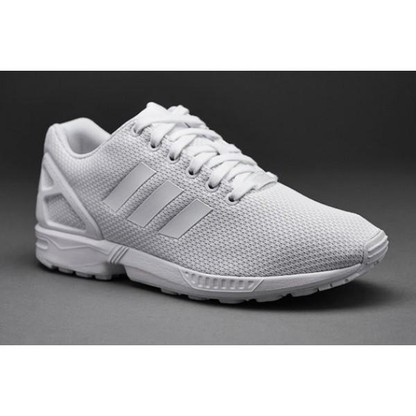Adidas-Männer ZX Flux Weiß Weiß Weiß Online g�...