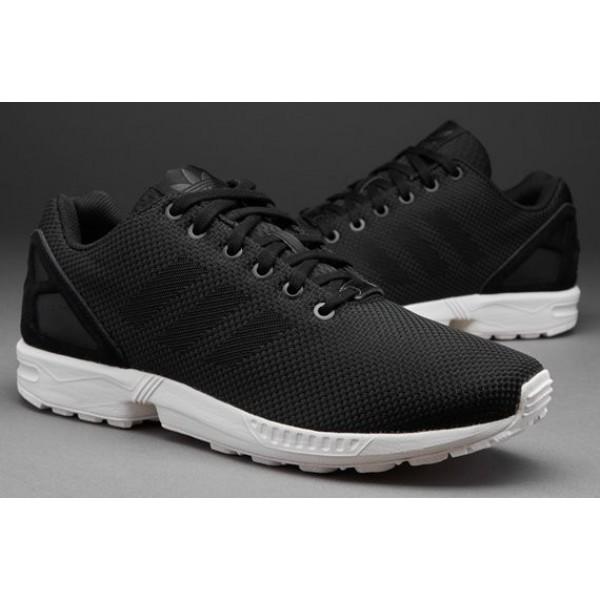 Adidas-Männer ZX Flux Weave Schwarz Black Carbon ...