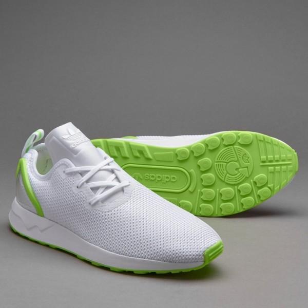 Adidas ZX Flux Racer Asym Herren-Schuhe Weiß Wei�...