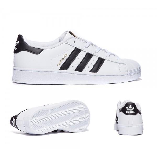 Adidas Originals Säuglingssuperstar-Trainer Weiß und Schwarz Online bestellen