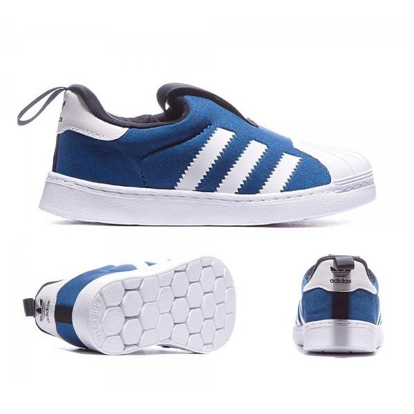 Adidas Originals Superstar 360 Trainer Blau und Weiß Bequem