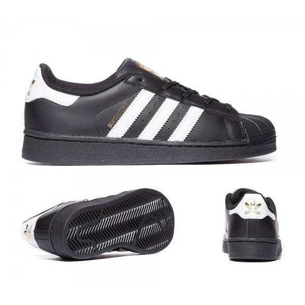 Adidas Originals Säuglingssuperstar-Trainer Schwarzweiss Kaufen online
