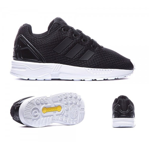 Adidas Originals Nursery ZX Flux Trainer Schwarzwe...