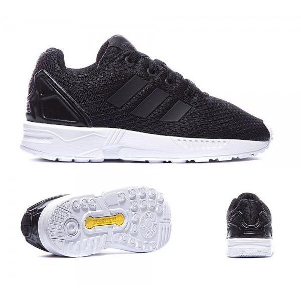 Adidas Originals Nursery ZX Flux Trainer Schwarzweiss Billig