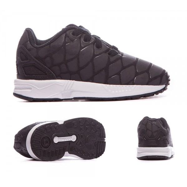 Adidas Originals Nursery ZX Flux Xeno Trainer Schwarzweiss Sale