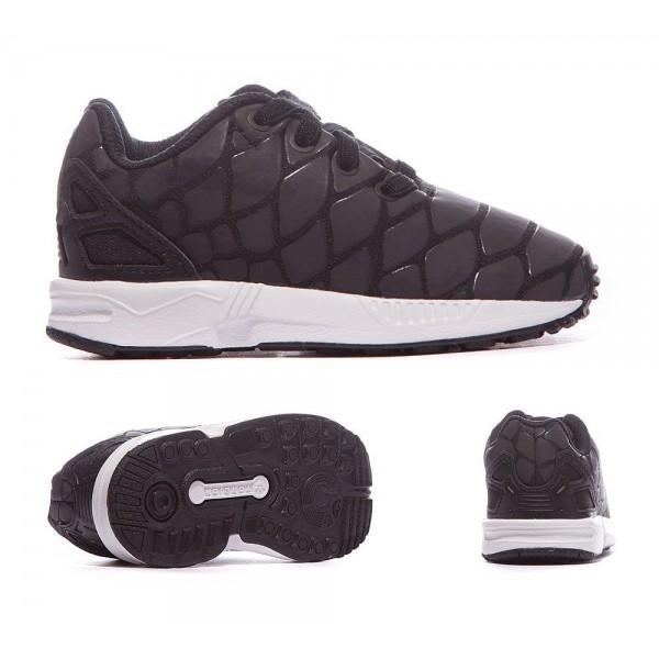 Adidas Originals Nursery ZX Flux Xeno Trainer Schw...