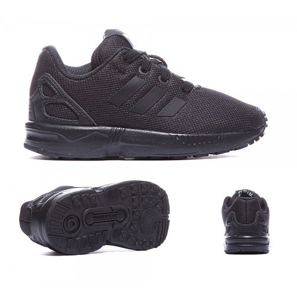 Adidas Originals Nursery ZX Flux Sneaker Schwarz und Core Schwarz Online günstig