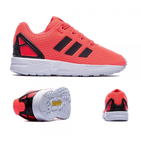 Adidas Originals Nursery ZX Flux Trainer Flash-Rot...