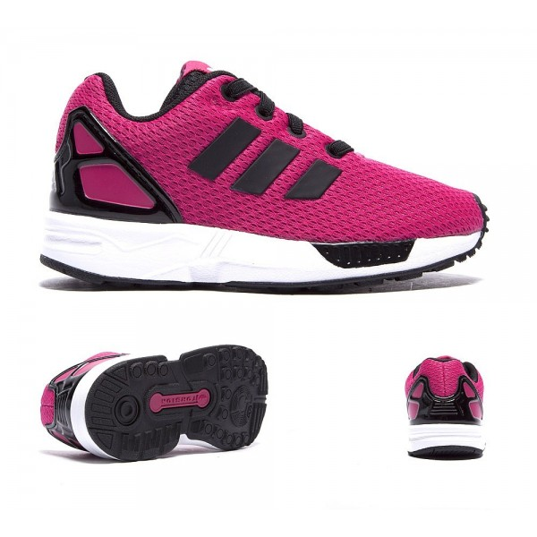 Adidas Originals Nursery ZX Flux Trainer Bold Rosa...