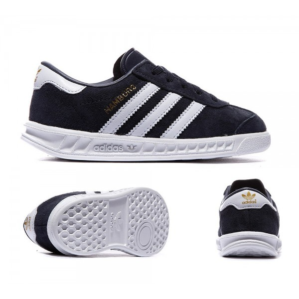 Adidas Originals Kinder Hamburg Trainer colligate ...