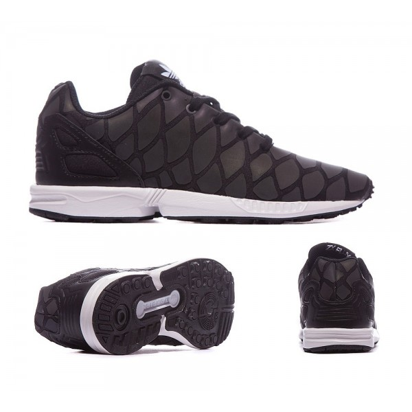 Adidas Originals Junior ZX Flux Xeno Trainer Schwa...