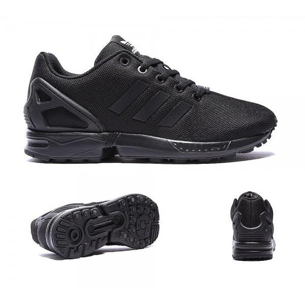 Adidas Originals Junior ZX Flux Sneaker Schwarz Online bestellen