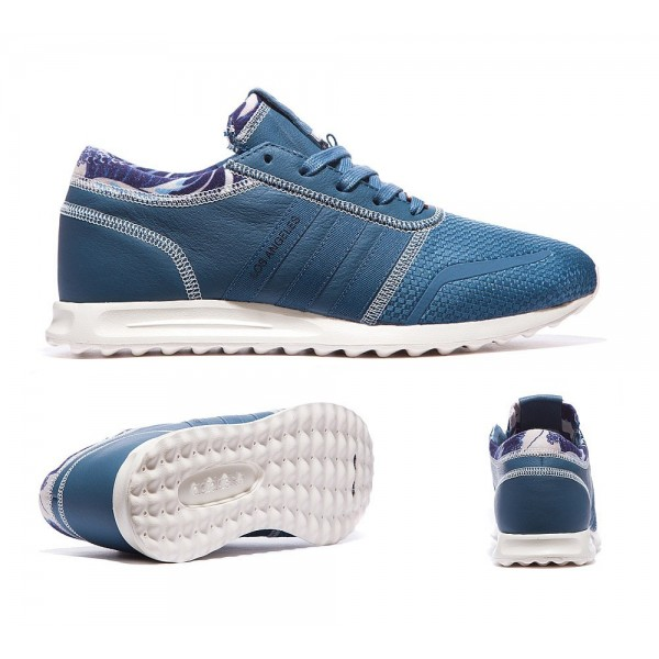 Adidas Originals Los Angeles Italia Trainer Blau V...