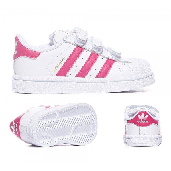 Adidas Originals Nursery Superstar Sneaker Weiß u...