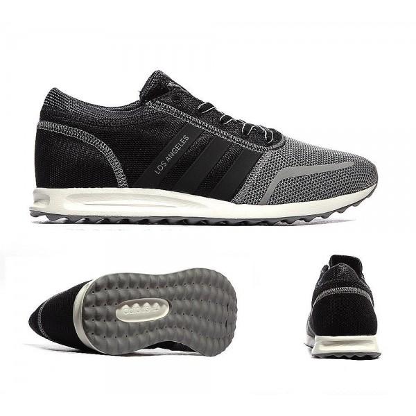 Adidas Originals Los Angeles Trainer Fest Grau und Core Schwarz Online bestellen