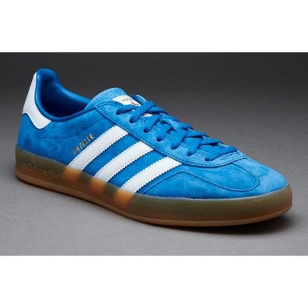 Adidas-Männer Gazelle Indoor-Drossel White Gum On...