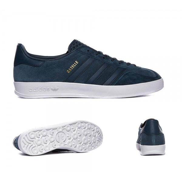 Adidas Originals Gazelle Indoor Trainer Dunkelblau...