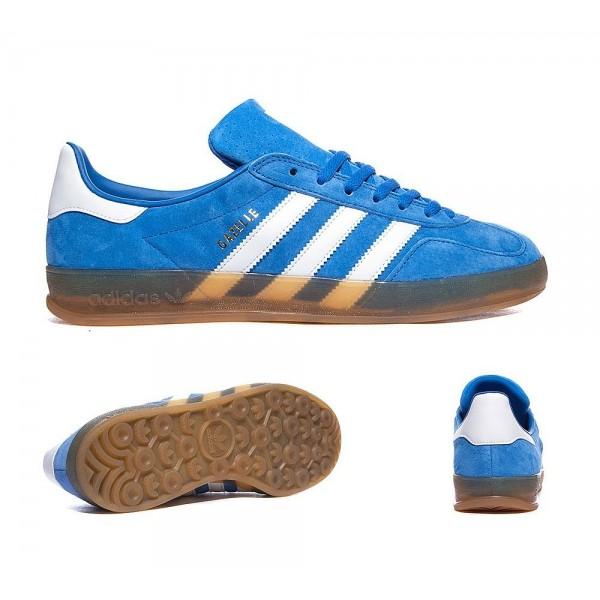 Adidas Originals Gazelle Indoor Trainers Blau Weiß Gum Online