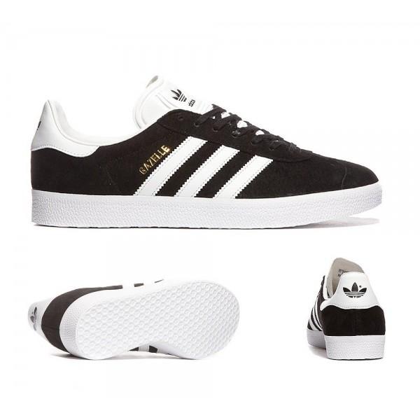 Adidas Originals Gazelle OG Sneaker Schwarz und We...