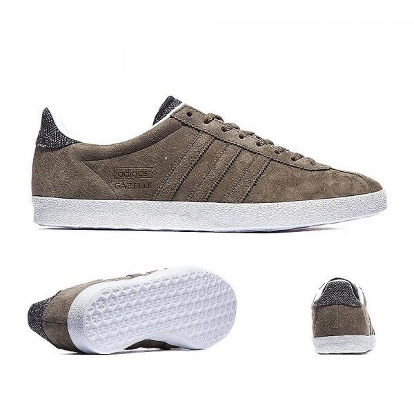 Adidas Originals Gazelle OG Trainer Dunkle Ladung und Weiß Online kaufen