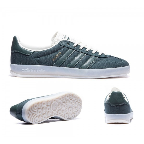 Adidas Gazelle Indoor Trainers Mineral Grün Sale