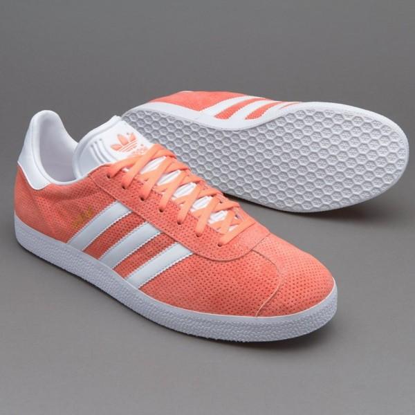 Adidas Gazelle Sun Glow White Gold Online bestelle...
