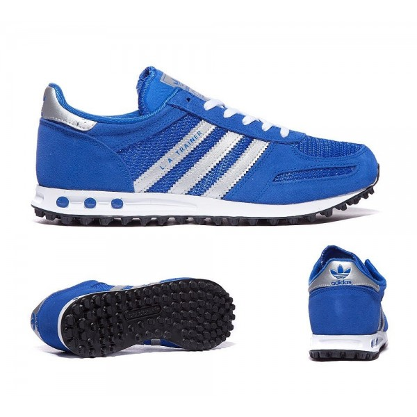 Adidas Originals Junior LA Trainer Royal Blue Outl...