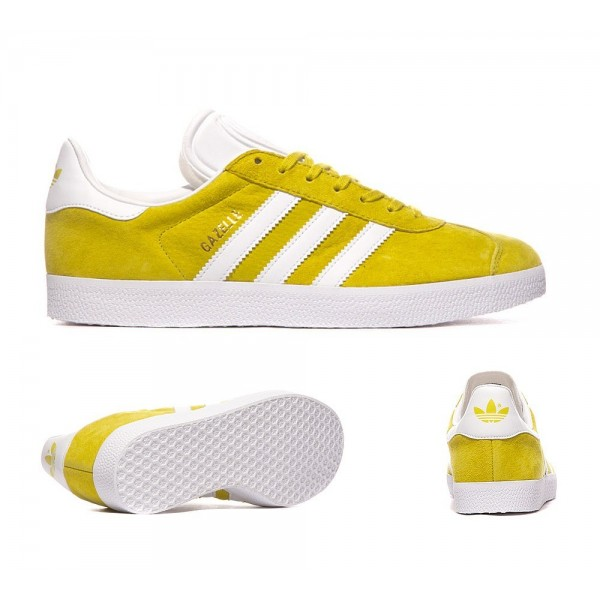 Adidas Originals Gazelle OG Trainer Lime und Weiß...