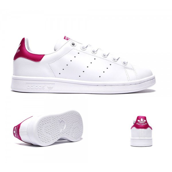 Adidas Originals Junior Stan Smith Trainer Weiß u...