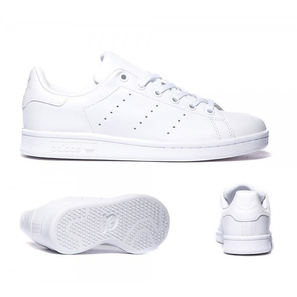 Adidas Originals Junior Stan Smith Trainer Weiss B...