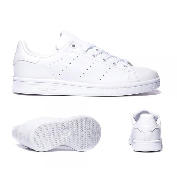Adidas Originals Junior Stan Smith Trainer Weiss B...