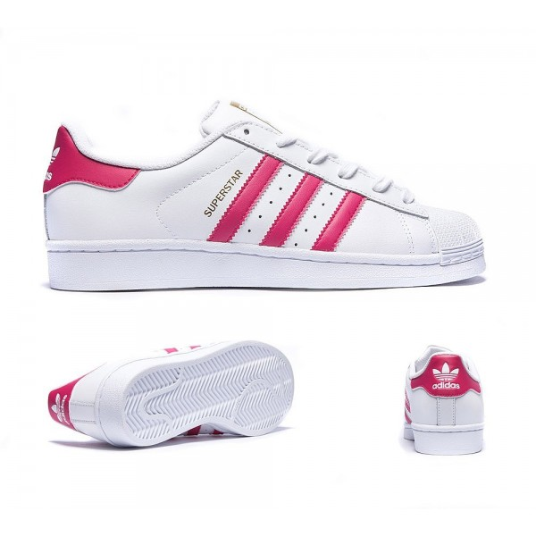Adidas Originals Junior Superstar Sneaker Weiß un...