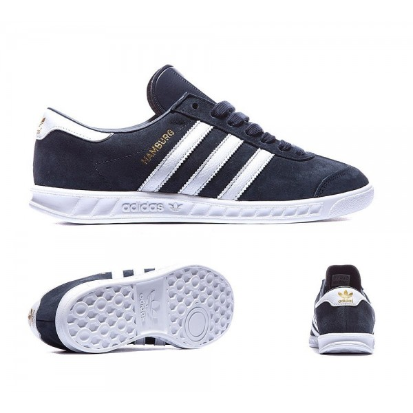 Adidas Originals Junior Hamburg Trainer colligate ...