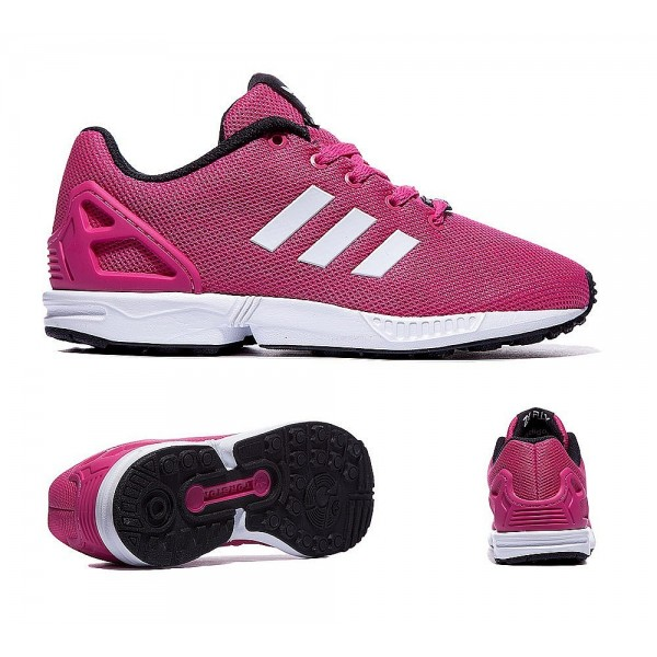 Adidas Originals Infant ZX Flux Trainer Rosa und W...