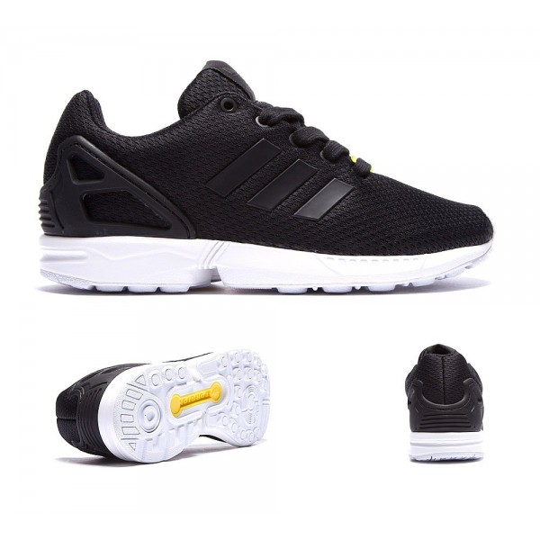 Adidas Originals Infant ZX Flux Trainer Schwarzwei...