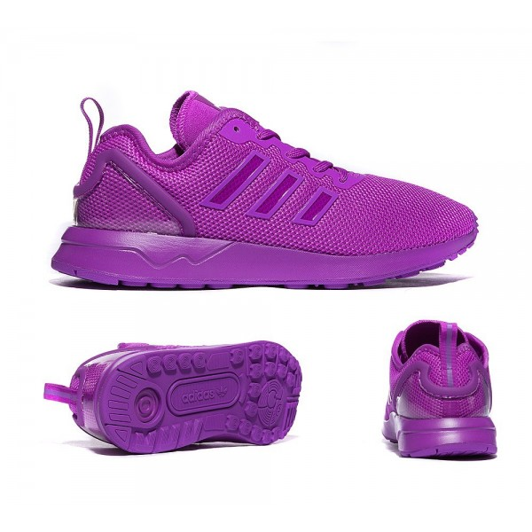 Adidas Originals Junior ZX Flux ADV Trainer Lila G...