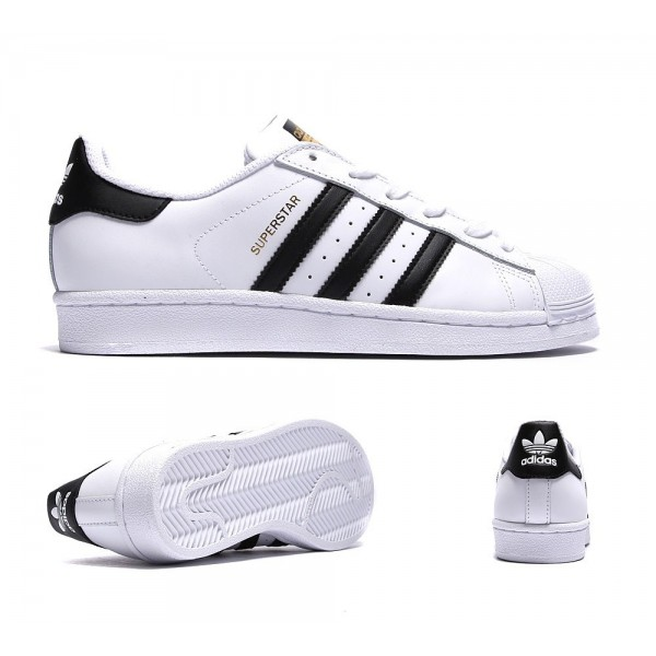 Adidas Originals Junior Superstar-Trainer Weiß un...