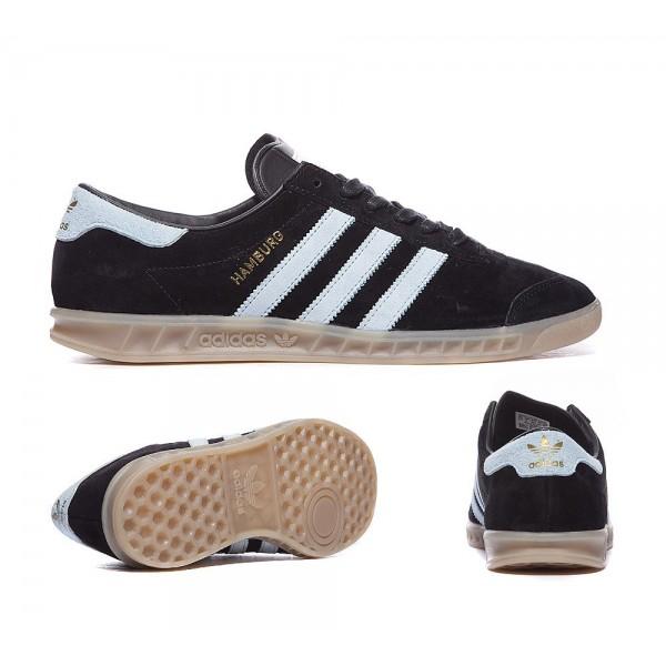 Adidas Originals Hamburg Trainer Core-Schwarz und ...