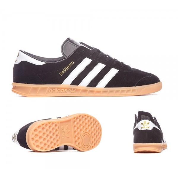 Adidas Originals Hamburg Trainer Core-Schwarzweiss...