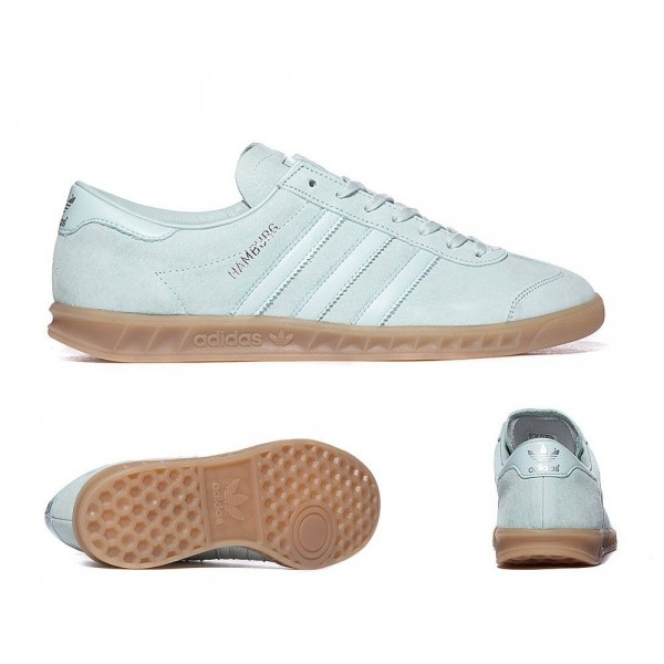 Adidas Originals Hamburg Trainer Vapor Green Mint ...
