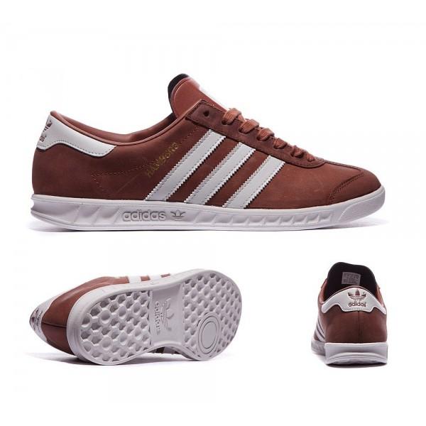 Adidas Originals Hamburg Trainer Redwood und Grau ...