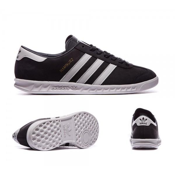 Adidas Originals Hamburg Sneaker Schwarz nd Grau S...