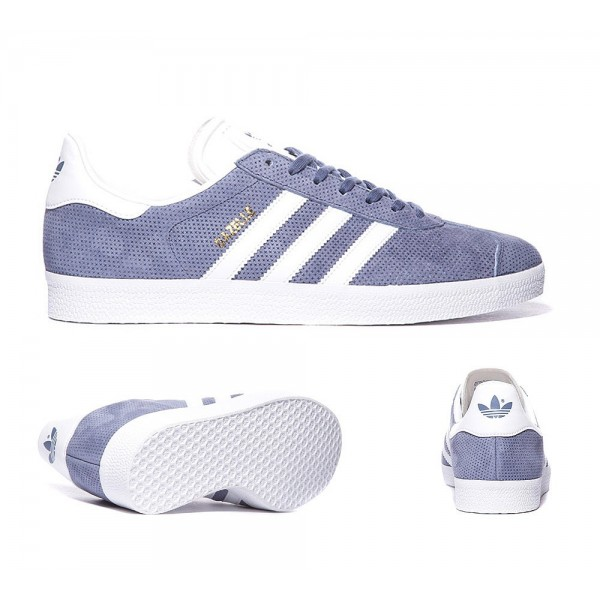 Adidas Originals Gazelle Trainer Super-Lila, Weiß...