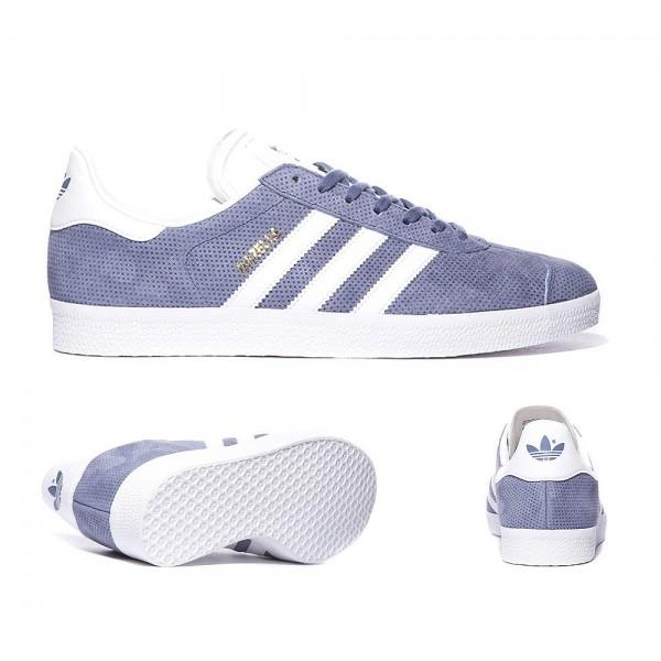 Adidas Originals Gazelle Trainer Super-Lila, Weiß...