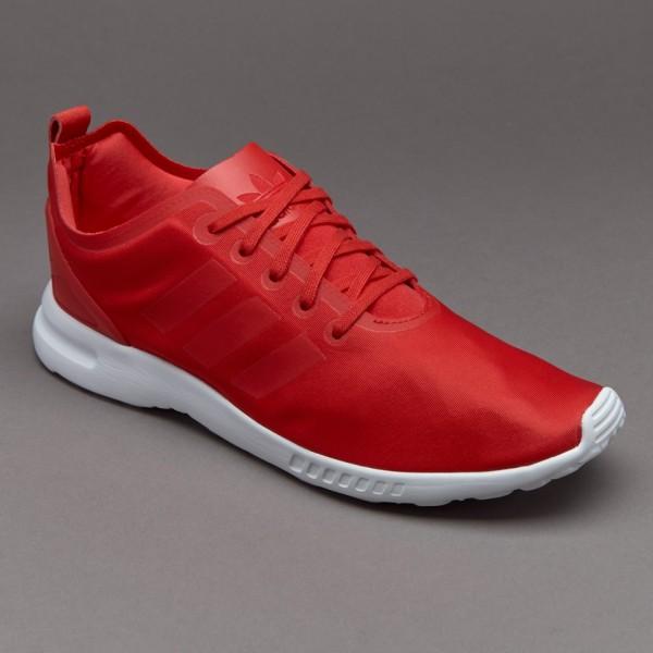 Adidas Damen ZX Flux Glatte Lush Red Online günstig