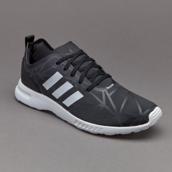 Adidas Damen ZX Flux Glatte Damenschuhe Core-Black...
