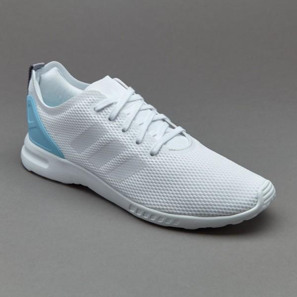 Adidas Damen ZX Flux Glatte Damenschuhe Core-Weiß...